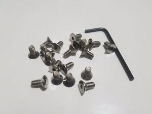American Racing Torq-Thrust II Polished Center Cap Screws Stainless Steel Set 20