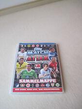 Sammelmappe Match Attax der Saison 2012/2013 mit Trading Cards