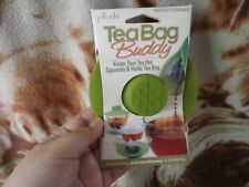 CLOSEOUT SALE! Imported From USA! Tea Bag Buddy Green #1