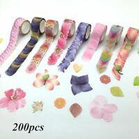 1 Roll Washi Masking Tape Petal Flower Paper Washi Tape DIY Scrapbooking Sticker