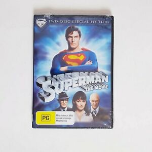 Superman The Movie DVD Movie Free Post R4 AUS - Superhero DC Special Edition