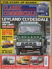 Classic & Vintage Commercials May 2015 Leyland Clydesdale Scania Dennis Pax