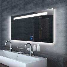 Badspiegel Led Uhr In Badezimmer Spiegel Gunstig Kaufen Ebay