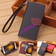 Flip Leaf Clasp Wallet Case For Xiaomi Redmi Note 2/3/MI5/MI4 Luxury PU Leather