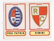 figurina CALCIATORI PANINI 1982/83 NEW numero 422 PRO PATRIA RIMINI