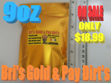Buy paydirt-9oz.Bri's pay dirt_ADDED NATURAL GOLD & GARNETS-18K-22K-Natural gold