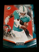 2019 Panini Playoff Myles Gaskin RC Rookie Card MIAMI DOLPHINS