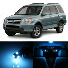 16 x ICE BLUE LED Lights Interior Package Kit For Honda PILOT 2006 - 2008 + TOOL