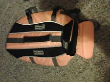 OUTWARD HOUND - SMALL- PET SAVER - ORANGE, DOG LIFE JACKET