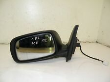 TOYOTA COROLLA E12 2006 LHD FRONT LEFT SIDE ELECTRIC WING MIRROR GREY OEM