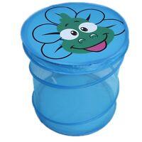 New  Basket Storag Folding Cartoon Bucket Baby Toy Clothes Net Laundry Baskets T