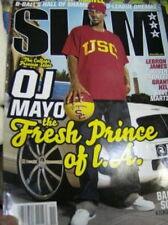 Slam Magazine November 2007 OJ Mayo,Lebron James, Kevin Garnett, Grant Hill, Kev