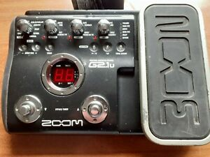 Zoom G2 1u Multi-Effects Guitar Effect Pedal loaded with echoes from the past