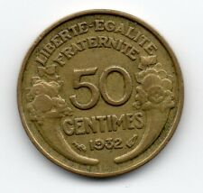 France - Frankrijk - 50 Centime 1932 open 9