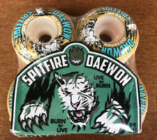 Spitfire Wheels Daewon Song Tiger Style 52mm 99a Pro Deca Almost Skateboard Rare