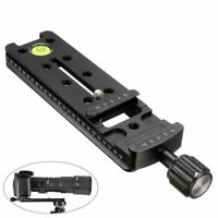 140mm Nodal Rail Slide Quick Release Plate Tripod Clamp For Macro Panoramic Arca