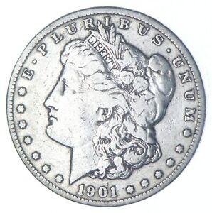 Early - 1901-O-Morgan Silver Dollar - 90% US Coin *784