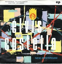 7inch ELVIS COSTELLO AND THE ATTRACTIONS New Amsterdam EP  HOLLAND 1980  (S2197)