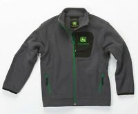 John Deere Dark Grey Children's Fleece Jacket