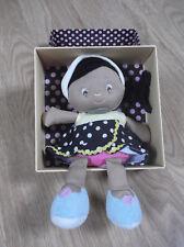 Doudou Peluche fée demoiselles jaune noir doudou et compagnie verte poupée Doll