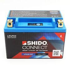 Shido LTX16 CNT Lithium Ionen Connect Batterie 12V LiFePO4 (YTX16-BS) Motorrad