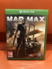 XBOX ONE MAD MAX GAME EXCELLENT CONDITION FREEPOST