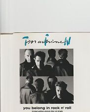 BOWIE/TIN MACHINE-You Belong In Rockn'Roll Limited cd single
