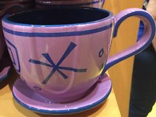 Alice In Wonderland Mad Hatter Tea Cup Ride Mug Purple Disney World Theme Parks