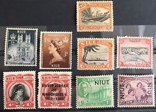 NIUE Cook Islands Great Collection Of Mint NH/OG 1 Used W1-63