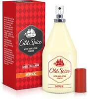 Old Spice After Shave Lotion - MUSK ATOMIZER  150 ML FOR MEN  - Aftershave