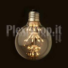 Lampadina Edison LED 3W - Mini Globo 80mm