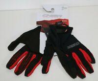 Chiba Titan Fahrrad Handschuhe lang schwarz/rot Gr. L