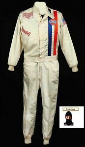 Gulf Go-kart hobby race suit (Free balaclava)