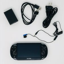 Sony PS Vita OLED WiFi Black w/ Charge Adapter  Free 2-Day Shipping