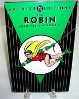 Robin Volume 1 DC Comics Archive Edition Hard Cover HC New Sealed Batman
