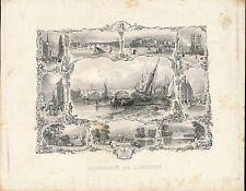 Gravure XIXe - Souvenir de LONDRES - 15