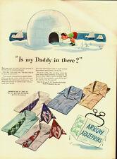 1947 Vintage ad for Arrow Arazephyrs Shirts/CartoonBoy Igoo (051513)