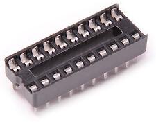 10pcs 20 Pin Narrow Type DIP IC Socket Solder Prototype PCB Attiny2313 4313 USA