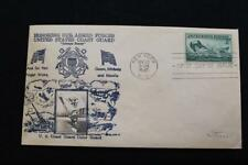 PATRIOTIC COVER 1945 1ST DAY ISSUE HONORING THE U.S. COAST GUARD CROSBY (610)