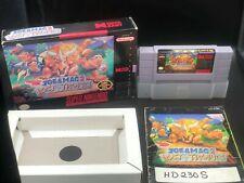 Joe & Mac 2 Lost In The Tropics Super Nintendo SNES Complete in Box CIB