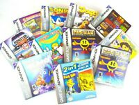 Lot of 11 EMPTY Gameboy Advance Boxes W/ Manuals & Inserts Only NO Games