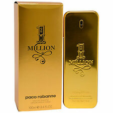 1 Million by Paco Rabanne Men's Eau de Toilette 3.4 oz Spray One Million