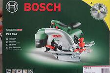 Handkreissäge Bosch PKS 55 A mit 2tem  Sägeblatt Precision von Bosch