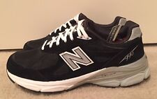 New Balance 990 v3 Classic Running Shoes W990BK3~ Women's 8.5 Black LIKE NEW!