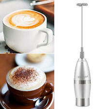 Electric Milk Frother Drink Foamer Coffee Latte Chocolate Blend Mixer Whisker