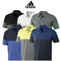 ADIDAS ULTIMATE 2.0 ALL-DAY NOVELTY LOGO CHEST GOLF POLO SHIRT