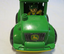 "Mega Bloks John Deere Green Monster 9"" X 8"" Toy Tractor includes Farmer Driver"