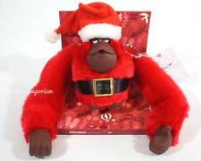KIPLING XL CHRISTMAS MONKEY SANTA ORNAMENT KEYCHAIN