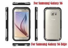 Galaxy S6 Edge Case,Waterproof  Case Cover for Samsung ShockProof Dustproof