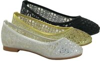 Ladies New Stone Establishment Rounded Toe Casual/Formal Fashion Shoes UK Size